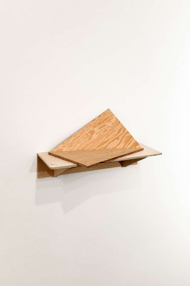 Untitled#1, wood, dimensions variable, 2015